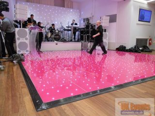 Pink Sparkly Dance floor