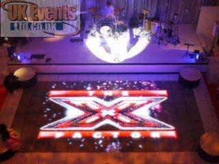 video projection floor