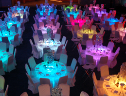 5ft round banquet tables hire